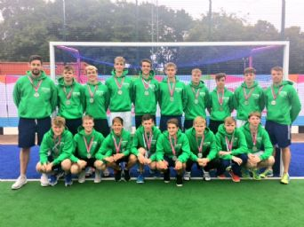 Silver Medals for Ulster U18 Hockey Team